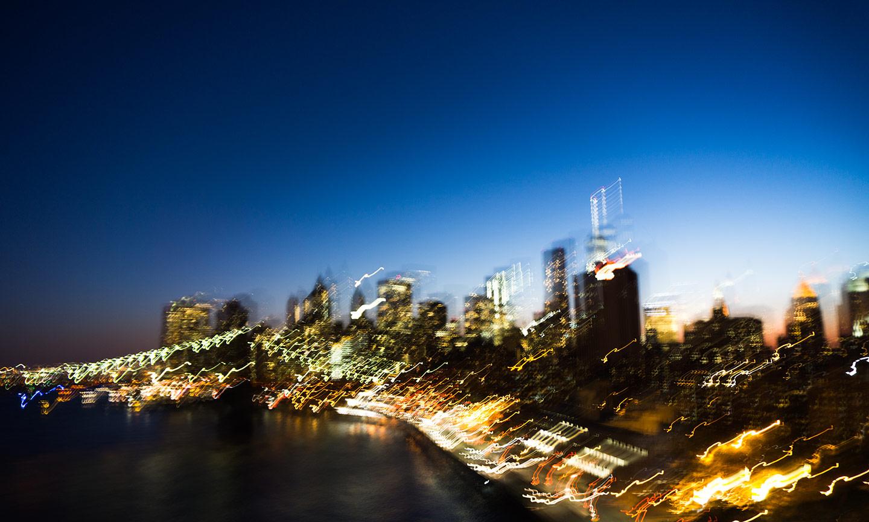blurry NY