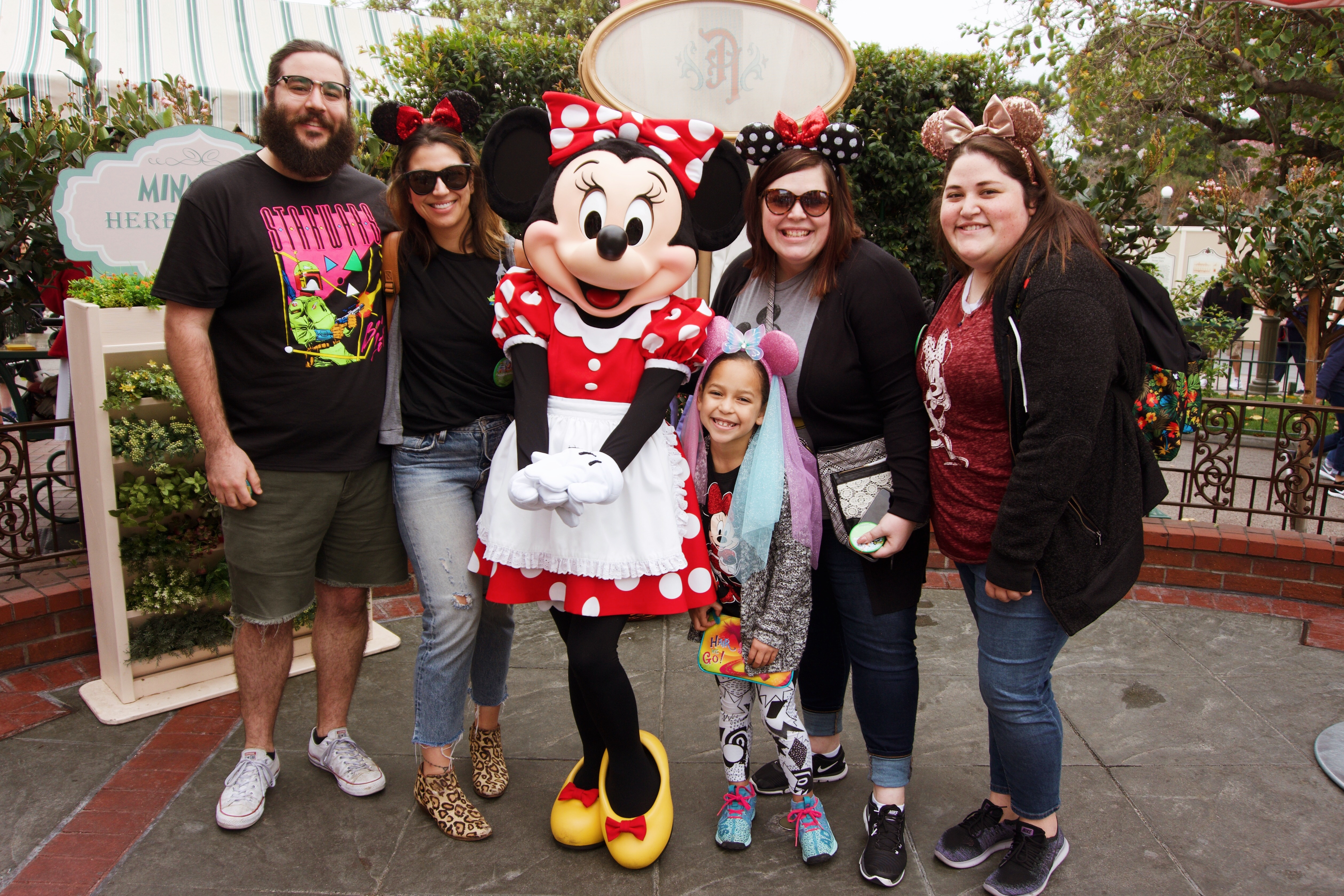 us and Minnie