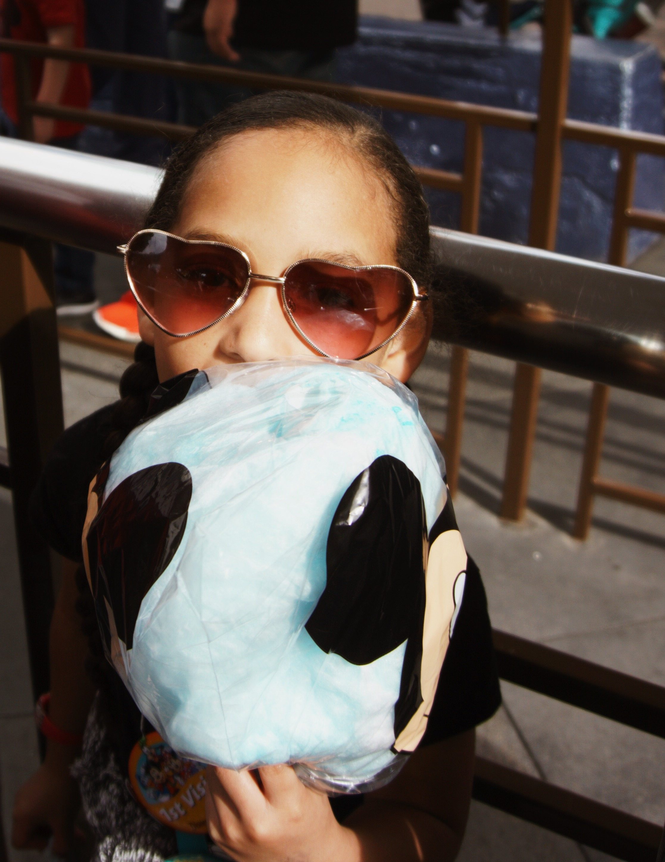 sunglasses and cotton candy